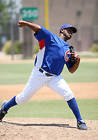 Manolin De Leon / AZL Cubs..Photo by:  Bill Mitchell/Four Seam Images