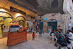Israel, the Upper Galilee, Safed Old Town