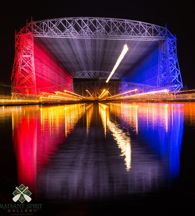 wormhole, portal, lunar transport, Lake Superior, Duluth, bridge to ____. tunnel pass, vortex,