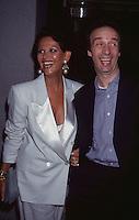 Claudia Cardinale &amp; Roberto Benigni 1993<br /> by Jonathan Green