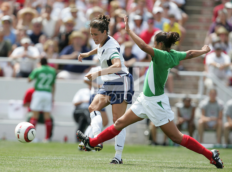 Julie Foudy, USA v Mexico, 2004.
