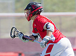 Palos Verdes, CA 03/26/16 - unidentified San Clemente player(s) in action during the CIF Boys Lacrosse game between San Clemente Tritons and the Palos Verdes Seakings at Palos Verdes High School.  Palos Verdes defeated San Clemente 11-6