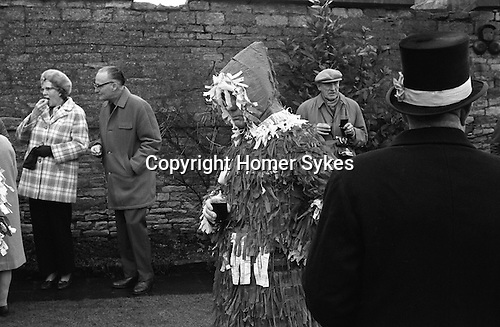 Marshfield Paper boys, Mummers. Marshfield , Gloucestershire, England. 1973 Annually Boxing Day December 26th.<br /> <br /> My archive ref 13a 694 1973