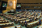 General Assembly Seventy-first session, 25th plenary meeting<br /> 1.  Organization of work, adoption of the agenda and allocation of items: Documentation for the election of the members of the International Law Commission: review of the list of candidates [item 7]<br /> 2.  Implementation of the resolutions of the United Nations [item 120] Revitalization of the work of the General Assembly [item 121]<br />      Joint debate