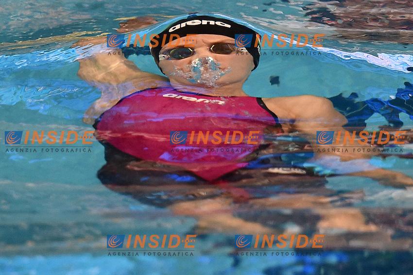 Katinka HOSSZU HUN Women's 50m Backstroke <br /> Doha Qatar 06-12-2014 Hamad Aquatic Centre, 12th FINA World Swimming Championships (25m). Nuoto Campionati mondiali di nuoto in vasca corta.<br /> Photo Andrea Staccioli/Deepbluemedia/Insidefoto