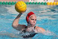 17 February 2008: Kelsey Holhouser during Stanford's 10-5 win over UC Davis at the Avery Aquatic Center in Stanford, CA.