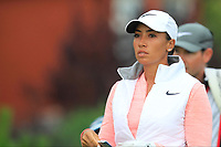 Cheyenne Woods (USA) on the 2nd tee during Round 2 of the Ricoh Women's British Open at Royal Lytham &amp; St. Annes on Friday 3rd August 2018.<br /> Picture:  Thos Caffrey / Golffile<br /> <br /> All photo usage must carry mandatory copyright credit (&copy; Golffile | Thos Caffrey)