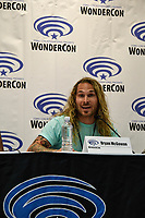 Bryan McGowan at Wondercon in Anaheim Ca. March 31, 2019