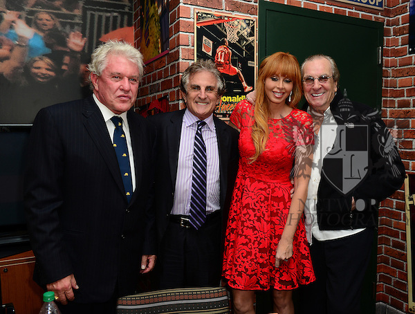 MIAMI, FL - NOVEMBER 20: Tom Berenger, John Herzfeld, Rebekah Chaney and Danny Aiello attend the premiere screening Of 'Reach Me' Hosted by University Of Miami inside the BankUnited Center Fieldhouse at University of Miami on Thursday November 20, 2014 in Miami, Florida. (Photo by Johnny Louis/jlnphotography.com)
