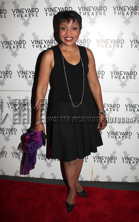 Brenda Pressley .attending the Opening Night Performance Reception for Nicky Silver's 'The Lyons' at the Vineyard Theatre in New York City.