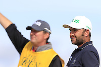 Andy Sullivan (ENG) tees off the 15th tee during Thursday's Round 1 of the 145th Open Championship held at Royal Troon Golf Club, Troon, Ayreshire, Scotland. 14th July 2016.<br /> Picture: Eoin Clarke | Golffile<br /> <br /> <br /> All photos usage must carry mandatory copyright credit (&copy; Golffile | Eoin Clarke)
