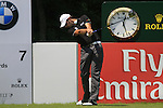 Simon Thornton tees off on the 7th hole during the Final Day of The BMW International Open Munich at Eichenried Golf Club, 27th June 2010 (Photo by Eoin Clarke/GOLFFILE).