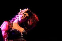 Regina Orozco llora  durante su show las Noches de Gala de las Fiestas del Pitic 2013 el 30 de Mayo del 2013 en Hermosillo<br /> &copy;NortePhoto.