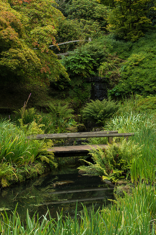 Gardens at Wakehurst Place - Royal Botanic Gardens, Kew. Ardingly, West Sussex, UK.