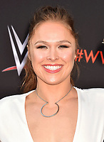 NORTH HOLLYWOOD, CA - JUNE 06: Ronda Rousey attends WWE's first-ever Emmy 'For Your Consideration' event at Saban Media Center on June 6, 2018 in North Hollywood, California.<br /> CAP/ROT/TM<br /> &copy;TM/ROT/Capital Pictures