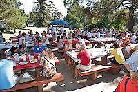 Los Angeles Accueil Barbecue de la rentree.  LAA BBQ.  Rancho Park, Cheviot Hills, Los Angeles
