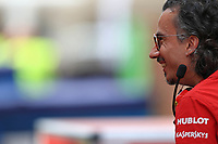 3rd December 2019; Yas Marina Circuit, Abu Dhabi, United Arab Emirates; Pirelli Formula 1 tyre testing sessions; Laurent Mekies, Sporting Director of Scuderia Ferrari