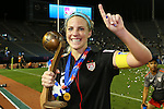 Julie Johnston (USA), .SEPTEMBER 8, 2012 - Football / Soccer : .FIFA U-20 Women's World Cup Japan 2012, Medal Ceremony .at National Stadium, Tokyo, Japan. .(Photo by Daiju Kitamura/AFLO SPORT) [1045]