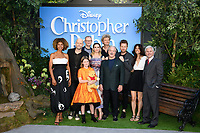 "Sophie Okenedo, director, Marc Forster, Hayley Atwell, Brontie Carmichael, Jim Cummings and Simon Farnaby, Ewan McGregor and Renee Wolf<br /> arriving for the ""Christopher Robin"" premiere at the BFI Southbank, London<br /> <br /> ©Ash Knotek  D3416  05/08/2018"