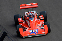 Verizon IndyCar Series<br /> Indianapolis 500 Race<br /> Indianapolis Motor Speedway, Indianapolis, IN USA<br /> Sunday 28 May 2017<br /> Al Unser, Jr. drives A. J. Foyt's 1977 Indy 500 winning car.<br /> World Copyright: F. Peirce Williams<br /> LAT Images