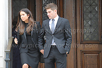 160410 Ched Evans Cardiff Crown Court trial
