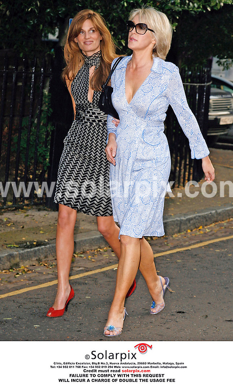 ALL ROUND PICTURES FROM SOLARPIX.COM. .Jemima Kahn arrives for the David Frost Summer party in Carlyle Square, London on 05.07.06. Job Ref: 2548/SFE..MUST CREDIT SOLARPIX.COM OR DOUBLE FEE WILL BE CHARGED..