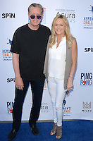 Orel Hershiser, Daba Hershiser<br /> at Clayton Kershaw's Ping Pong 4 Purpose Celebrity Tournament to Benefit Kershaw's Challenge, Dodger Stadium, Los Angeles, CA 08-11-16<br /> David Edwards/MediaPunch
