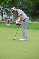 Bernd Wiesberger (AUT) watches his putt on 10 during Saturday's round 3 of the World Golf Championships - Bridgestone Invitational, at the Firestone Country Club, Akron, Ohio. 8/5/2017.<br /> Picture: Golffile | Ken Murray<br /> <br /> <br /> All photo usage must carry mandatory copyright credit (&copy; Golffile | Ken Murray)