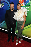 NEW YORK, NY - MAY 13: Luis Fonsi and Amanda Seales at the NBC 2019 Upfront Presentation at the Four Seasons Hotel in New York City on May 13, 2019. <br /> CAP/MPI/JP<br /> ©JP/MPI/Capital Pictures