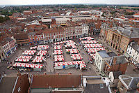 Newark market place, Newark on Trent, Nottinghamshire