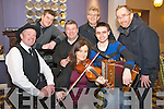Ray O'Sullivan, Meabh Buckley, Mike Kelliher, John O'Donoghue, Padraig Buckley, Patrick O'Donoghue and John O'Shea pictured at the launch of The Gathering festival in the Gleneagle hotel, Killarney on Sunday.