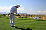 Ben Crane (USA) teeing off on the 3rd tee during Day 2 of the Accenture Match Play Championship from The Ritz-Carlton Golf Club, Dove Mountain. (Photo Eoin Clarke/Golffile 2011)