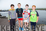 The Valentia U12 crew who claimed gold at the Portmagee Regatta on Sunday were l-r; Junior Kidd, Fionán Kidd, Kevin O'Connor Rian O'Shea.