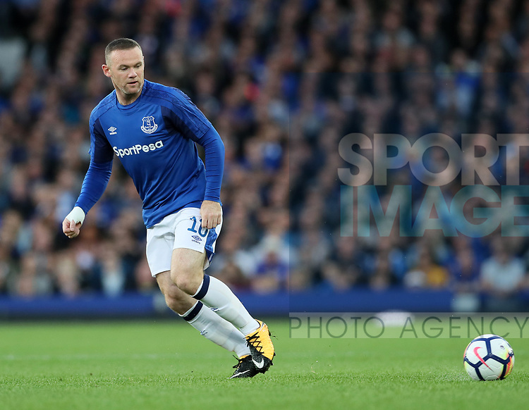 Everton's Wayne Rooney in action during the Europa League Qualifying Play Offs 1st Leg match at Goodison Park Stadium, Liverpool. Picture date: August 17th 2017. Picture credit should read: David Klein/Sportimage