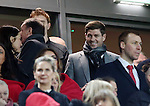Liverpool's former captain Steven Gerrard looks on during the Premier League match at Anfield Stadium, Liverpool. Picture date December 27th, 2016 Pic David Klein/Sportimage