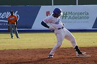 MONTERIA - COLOMBIA, 10-11-2019: Gigantes de Barranquilla y Vaqueros de Montería en el juego 3 de la serie 1 de la Liga Profesional de Béisbol Colombiano temporada 2019-2020 jugado en el estadio estadio Dieciocho de Junio de la ciudad de Montería. Victoria para Vaqueros por marcador de 6-10. / Gigantes de Barranquilla y Vaqueros de Monteria in match 3 series 1 as part Colombian Baseball Professional League season 2019-2020 played at Baseball Stadium on June 18 in Monteria city. Victory to Vaqueros by score of 6-10, Photo: VizzorImage / Andres Felipe Lopez / Cont