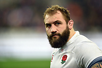 Joe Marler of England  looks dejected after the match. Natwest 6 Nations match between France and England on March 10, 2018 at the Stade de France in Paris, France. Photo by: Patrick Khachfe / Onside Images