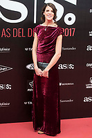 Ruth Beitia attends to photocall of 50th anniversary sport newspaper As in Madrid, Spain. December 04, 2017. (ALTERPHOTOS/Borja B.Hojas)