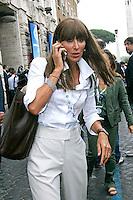 ANNA MARIA BERNINI.Roma 01/07/2011 Consiglio Nazionale del PDL..Photo Samantha Zucchi Insidefoto
