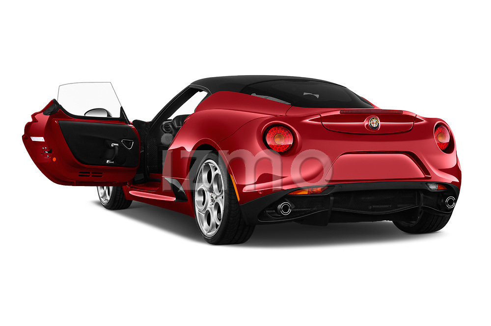 Car images of 2017 Alfaromeo 4C - 2 Door Coupe Doors