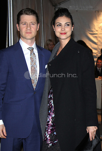 NEW YORK, NY - NOVEMBER 28: Ben McKenzie, Morena Baccarin at the 26th Annual Gotham Independent Film Awards at Cipriani Wall Street in New York City.November 28, 2016. Credit: RW/MediaPunch