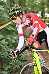 2017-09-16 / Veldrijden / Seizoen 2017-2018 / Junioren Vorselaar / Len Dejonghe<br /> <br /> ,Foto: Mpics.be