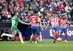 (L to R) Club Atletico de Madrid's Thomas Partey, Jose Maria Jimenez, Thomas Lemar and Futbol Club Deportivo Alaves' Borja Baston during La Liga match. December,8,2018. (ALTERPHOTOS/Alconada)