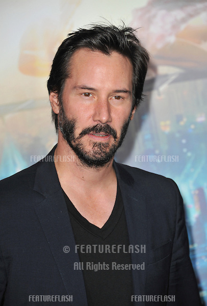 "Keanu Reeves at the Los Angeles premiere of ""Cloud Atlas"" at Grauman's Chinese Theatre, Hollywood..October 24, 2012  Los Angeles, CA.Picture: Paul Smith / Featureflash"