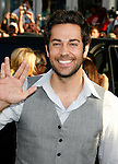 "HOLLYWOOD, CA. - April 30: Zachary Levi arrives at the Los Angeles premiere of ""Star Trek"" at the Grauman's Chinese Theater on April 30, 2009 in Hollywood, California."