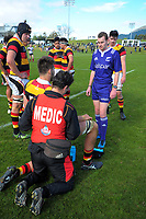 Action from the Graham Mourie Cup premiership semifinal rugby match between Waikato and North Harbour in the Jock Hobbs Memorial Under-19 Rugby Tournament at Owen Delany Park in Taupo, New Zealand on Wednesday, 13 September 2012. Photo: Dave Lintott / lintottphoto.co.nz