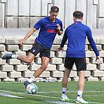 Atletico de Madrid's Marcos Llorente during training session. June 4,2020.(ALTERPHOTOS/Atletico de Madrid/Pool)