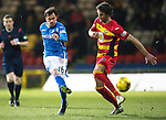 Partick Thistle v St Johnstone&hellip;23.02.16   SPFL   Firhill, Glasgow<br />Danny Swanson&rsquo;s shot is saved by Tomas Cerny<br />Picture by Graeme Hart.<br />Copyright Perthshire Picture Agency<br />Tel: 01738 623350  Mobile: 07990 594431