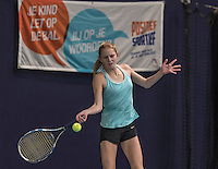 Hilversum, Netherlands, December 4, 2016, Winter Youth Circuit Masters, Sophie Schouten (NED)<br /> Photo: Tennisimages/Henk Koster