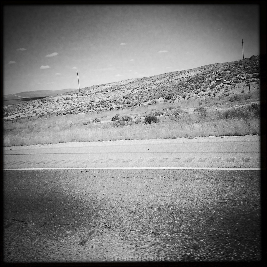 on the freeway, I-80 east, Monday June 29, 2015.